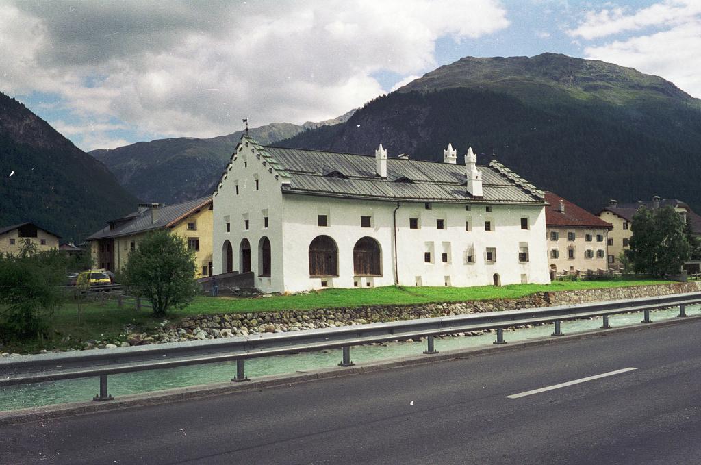 Bauernhaus im Engadin
